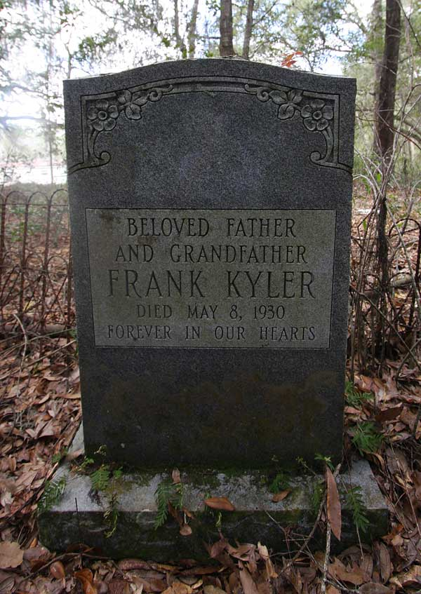 Frank Kyler Gravestone Photo