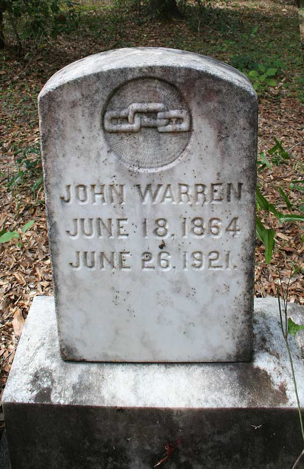 John Warren Gravestone Photo