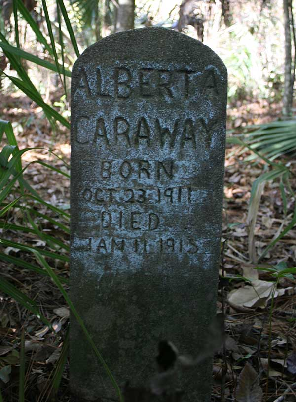 Alberta Caraway Gravestone Photo