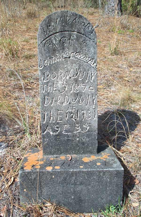 Johnnie Coleman  Gravestone Photo