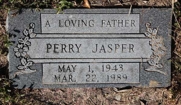 PERRY JASPER Gravestone Photo