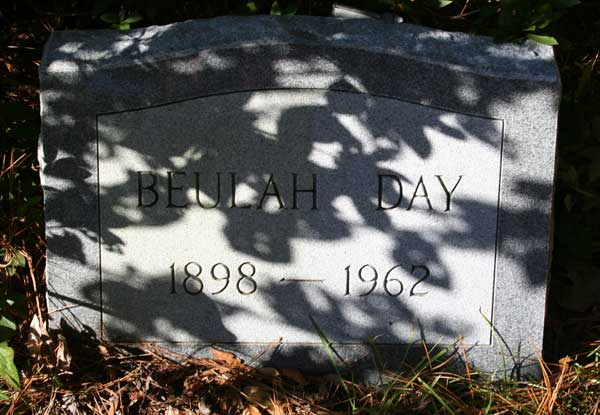 BEULAH DAY DAY Gravestone Photo