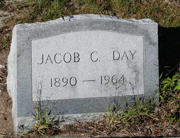 JACOB C. DAY Gravestone Photo