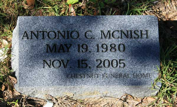 ANTONIO C. MCNISH Gravestone Photo