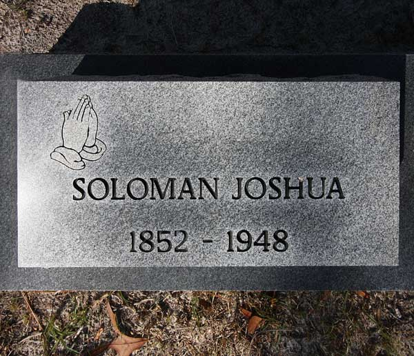 Soloman Joshua Gravestone Photo