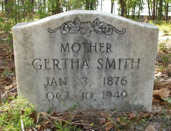 Gertha Smith Gravestone Photo
