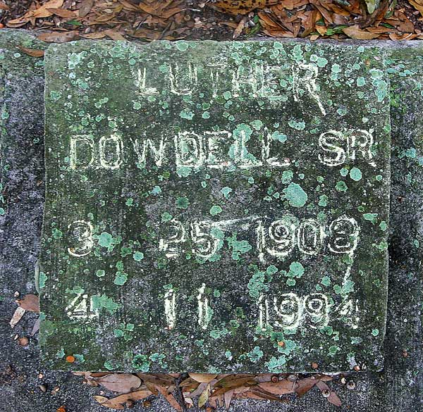 Luther Dowdell Gravestone Photo