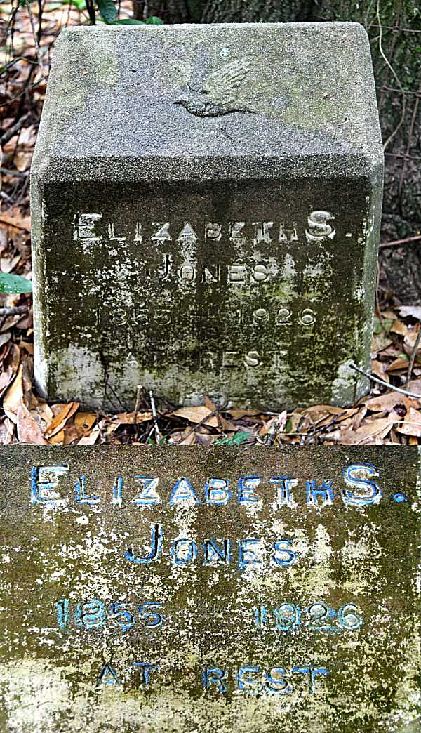 Elizabeth S. Jones Gravestone Photo