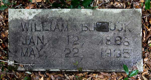 William Bullock Gravestone Photo