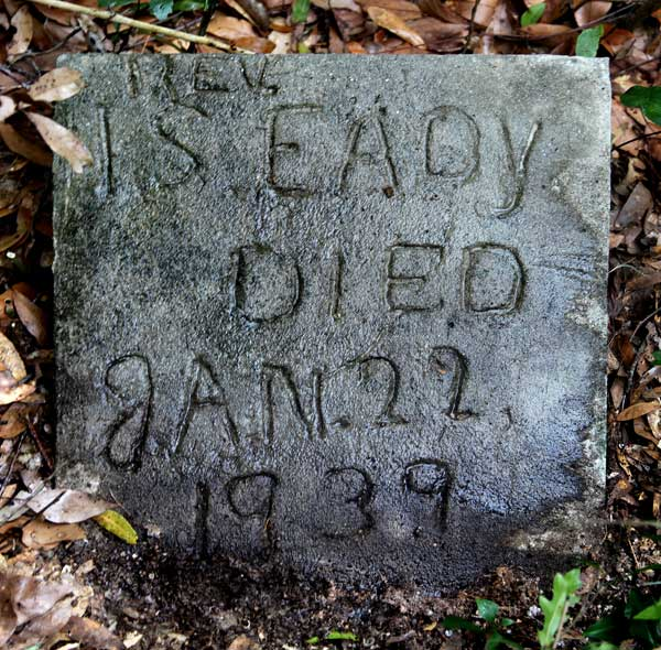 IS Eady Gravestone Photo