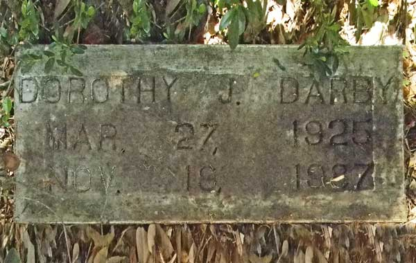 Dorothy J. Darby Gravestone Photo