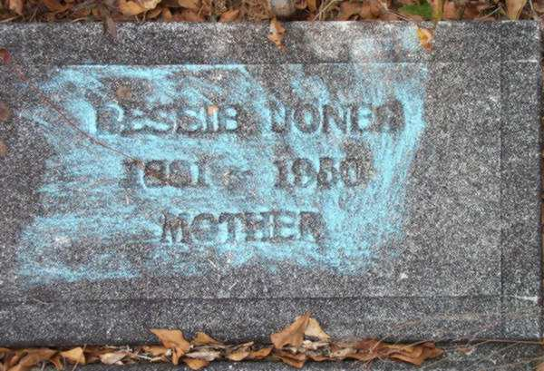 Bessie Jones Gravestone Photo