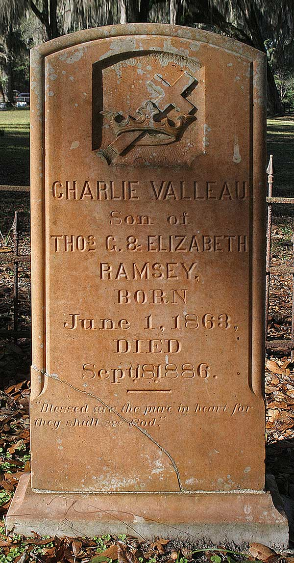 Charlie Valleau Ramsey Gravestone Photo