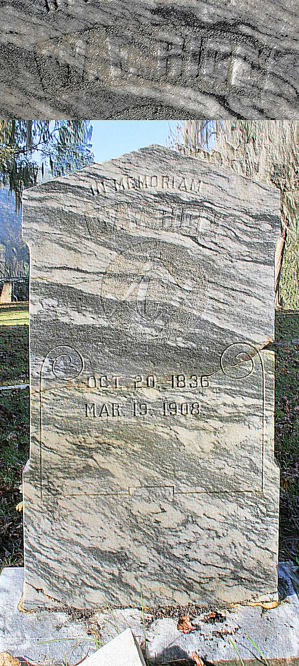 W.F. Rice Gravestone Photo