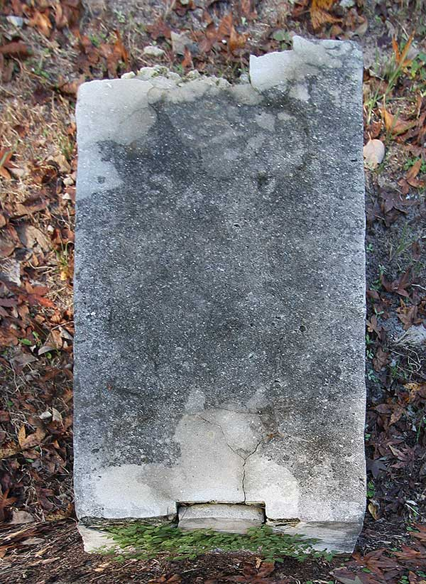 Infant Daughter Taylor Gravestone Photo