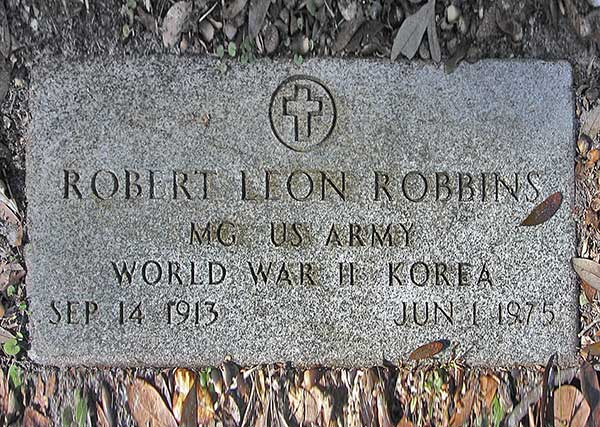 Robert Leon Robbins Gravestone Photo