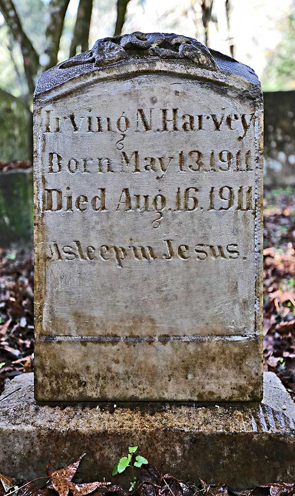 Irving N. Harvey Gravestone Photo