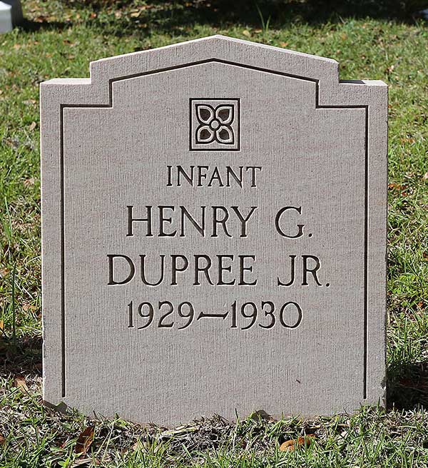 Henry G. Dupree Gravestone Photo