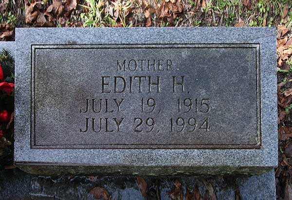 Edith H. Pisano Gravestone Photo