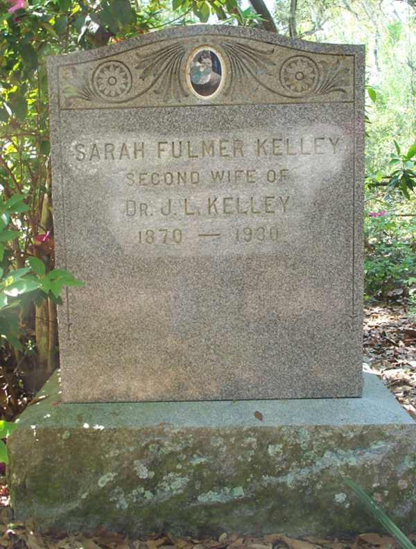 Sarah Fullmer Kelley Gravestone Photo