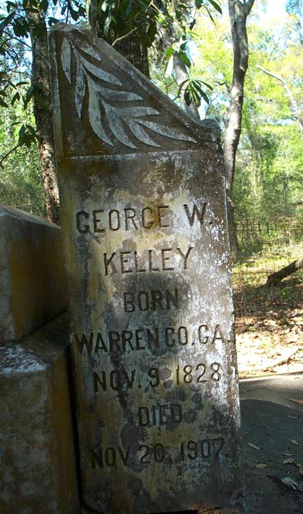 George W. Kelley Gravestone Photo