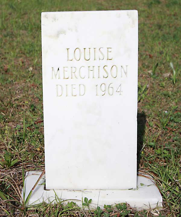 Louise Merchison Gravestone Photo