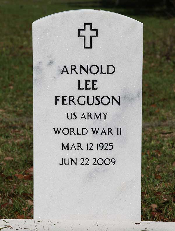 Arnold Lee Ferguson Gravestone Photo