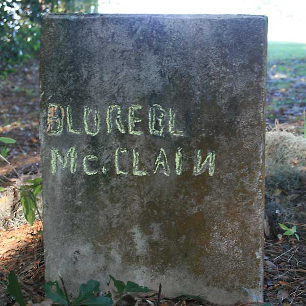 Blureel McClain Gravestone Photo