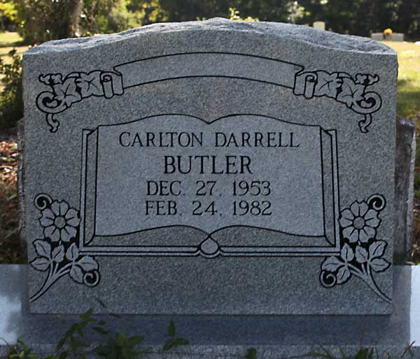 Carlton Darrell Butler Gravestone Photo