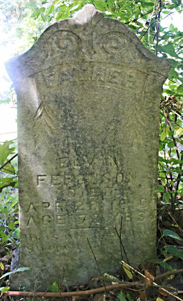 Elvin Ferguson Gravestone Photo