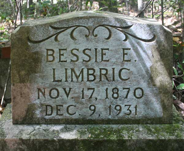 Bessie E. Limbric Gravestone Photo