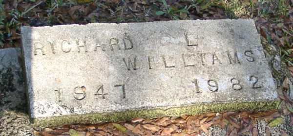 Richard L. Williams Gravestone Photo