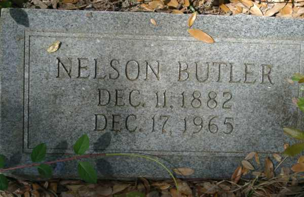 Nelson Butler Gravestone Photo