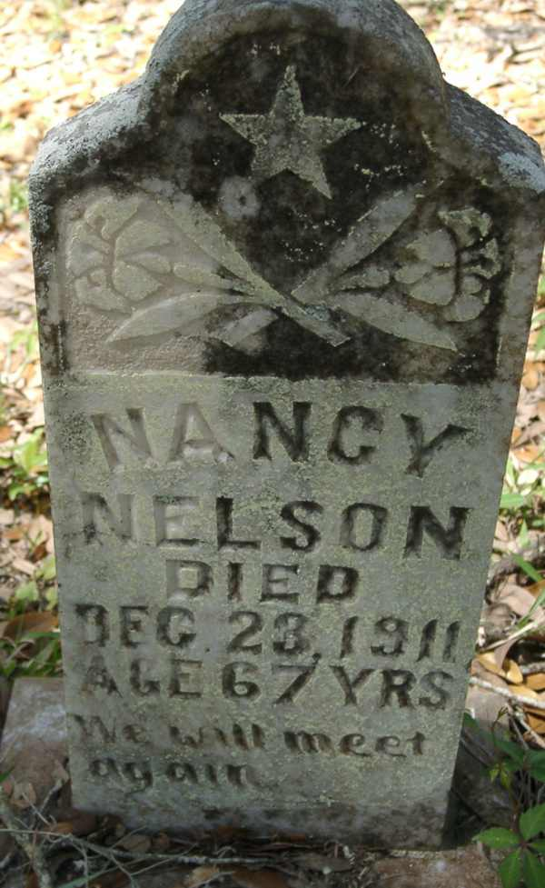 Nancy Nelson Gravestone Photo