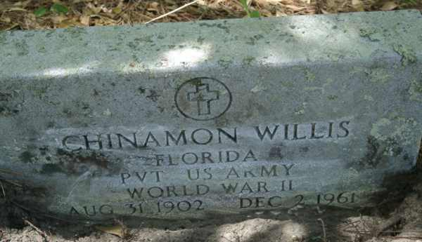 Chinamon Willis Gravestone Photo