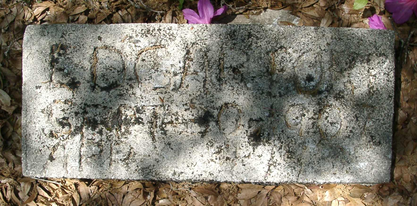 Edgar Fort Gravestone Photo