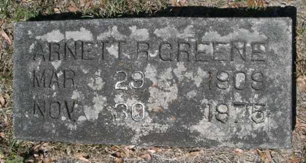 Arnette R. Greene Gravestone Photo
