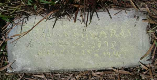 Freddick Edwards Gravestone Photo