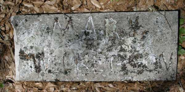 Mary Wilkerson Gravestone Photo
