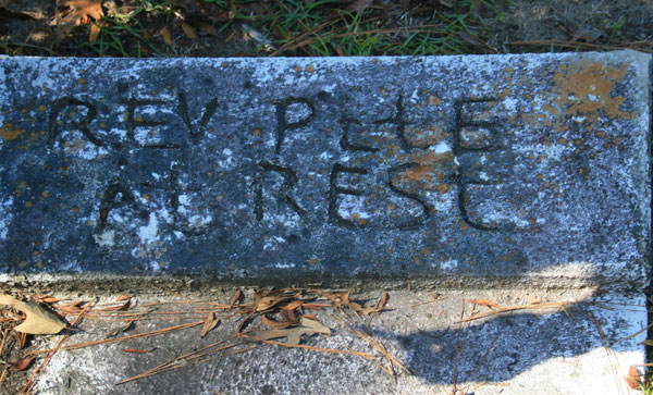 C. PETE Gravestone Photo