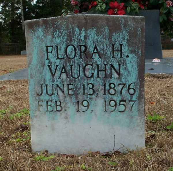 Flora H. Vaughn Gravestone Photo