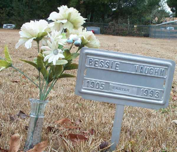 Bessie Vaughn Gravestone Photo