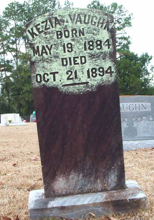 Kezia Vaughn Gravestone Photo