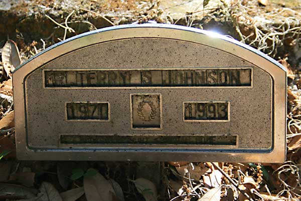 Terry S. Johnson Gravestone Photo