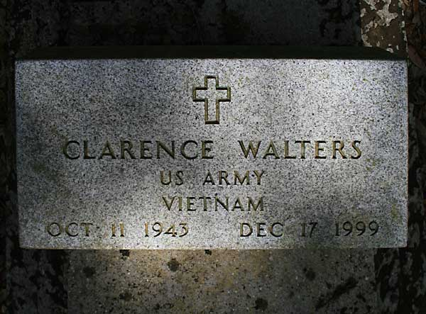 Clarence Walters Gravestone Photo