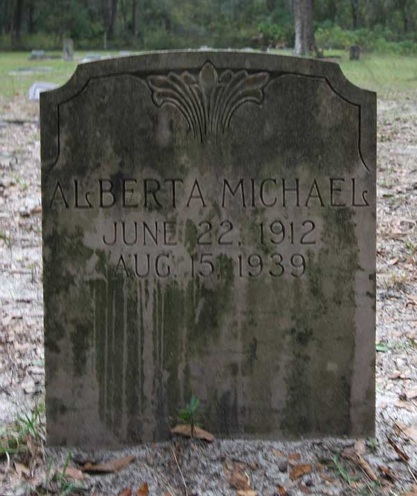 Albert Michael Gravestone Photo
