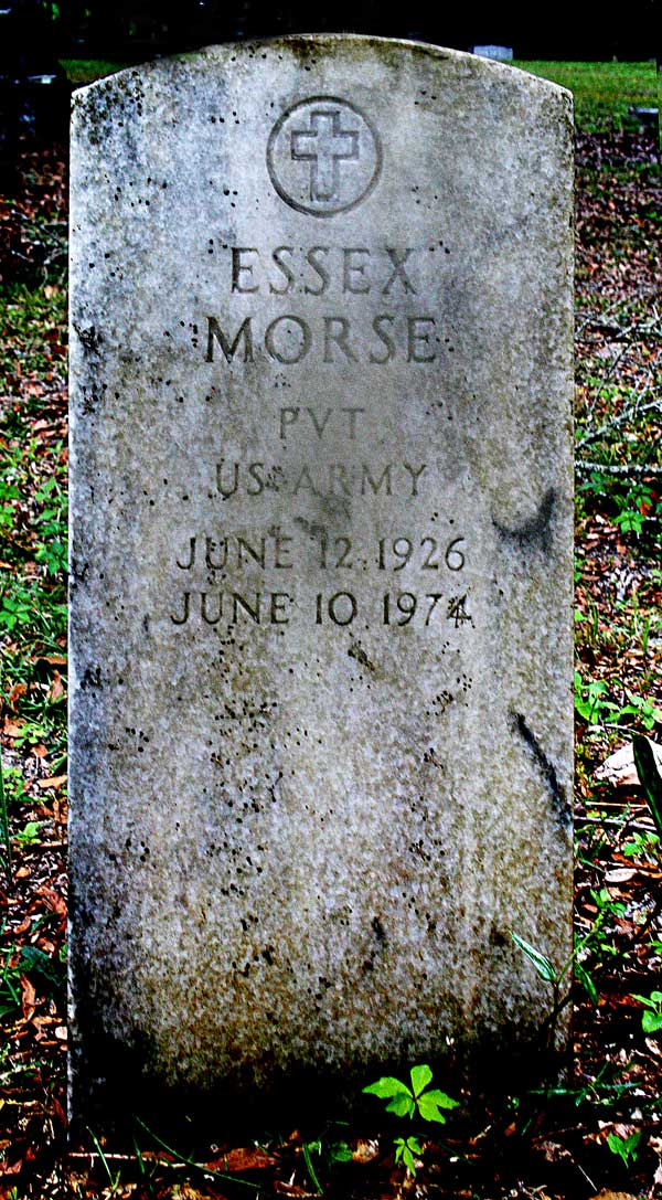 Essex Morse Gravestone Photo