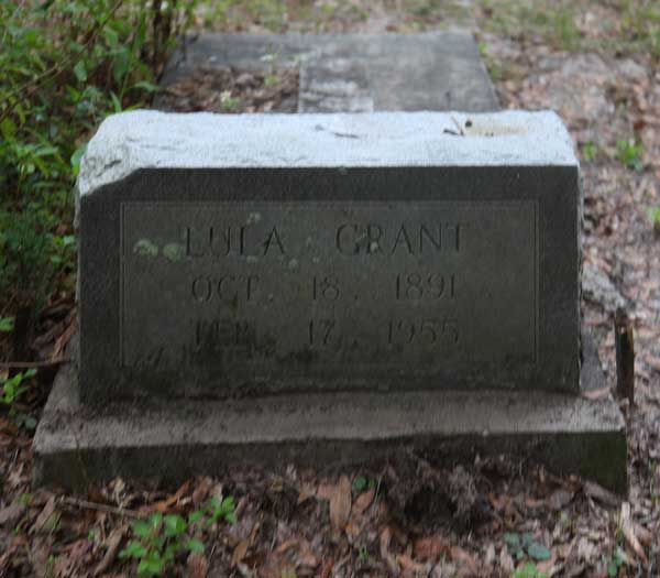 Lula Grant Gravestone Photo