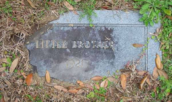 Little Brother Gravestone Photo