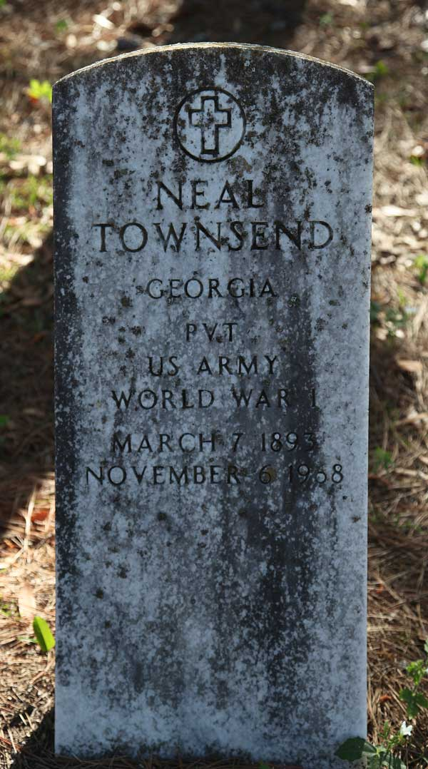 Neal Townsend Gravestone Photo